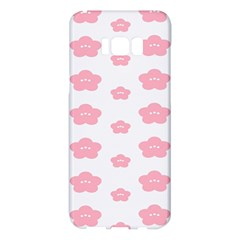Star Pink Flower Polka Dots Samsung Galaxy S8 Plus Hardshell Case