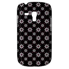 Sunflower Star Floral Purple Pink Galaxy S3 Mini by Mariart