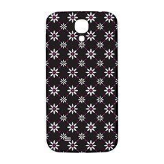 Sunflower Star Floral Purple Pink Samsung Galaxy S4 I9500/i9505  Hardshell Back Case by Mariart