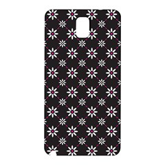 Sunflower Star Floral Purple Pink Samsung Galaxy Note 3 N9005 Hardshell Back Case by Mariart