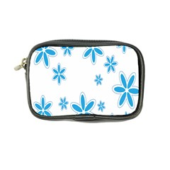 Star Flower Blue Coin Purse by Mariart