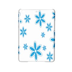 Star Flower Blue Ipad Mini 2 Hardshell Cases by Mariart