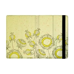 Sunflower Fly Flower Floral Ipad Mini 2 Flip Cases by Mariart