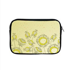 Sunflower Fly Flower Floral Apple Macbook Pro 15  Zipper Case by Mariart