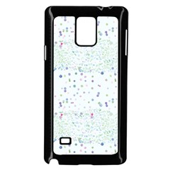 Spot Polka Dots Blue Pink Sexy Samsung Galaxy Note 4 Case (black) by Mariart