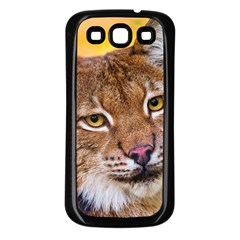 Tiger Beetle Lion Tiger Animals Samsung Galaxy S3 Back Case (black) by Mariart