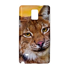Tiger Beetle Lion Tiger Animals Samsung Galaxy Note 4 Hardshell Case by Mariart