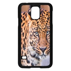 Tiger Beetle Lion Tiger Animals Leopard Samsung Galaxy S5 Case (black) by Mariart
