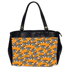 Pattern Halloween Wearing Costume Icreate Office Handbags (2 Sides)  by iCreate