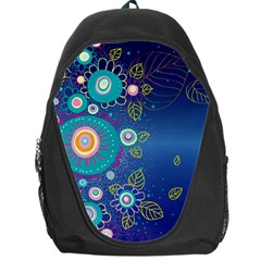 Flower Blue Floral Sunflower Star Polka Dots Sexy Backpack Bag