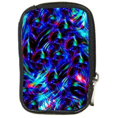 Dark Neon Stuff Blue Red Black Rainbow Light Compact Camera Cases by Mariart