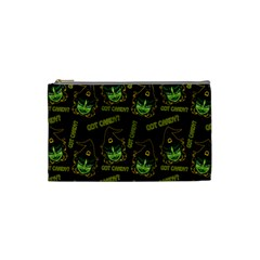Pattern Halloween Witch Got Candy? Icreate Cosmetic Bag (small)  by iCreate