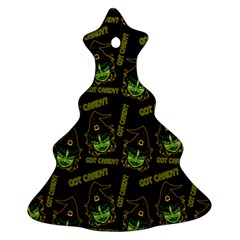 Pattern Halloween Witch Got Candy? Icreate Christmas Tree Ornament (two Sides) by iCreate