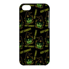 Pattern Halloween Witch Got Candy? Icreate Apple Iphone 5c Hardshell Case by iCreate