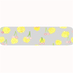 Cute Fruit Cerry Yellow Green Pink Large Bar Mats by Mariart