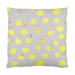 Cute Fruit Cerry Yellow Green Pink Standard Cushion Case (two Sides) by Mariart