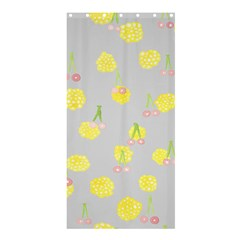 Cute Fruit Cerry Yellow Green Pink Shower Curtain 36  X 72  (stall)  by Mariart