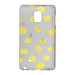 Cute Fruit Cerry Yellow Green Pink Galaxy Note Edge by Mariart