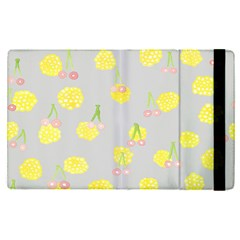 Cute Fruit Cerry Yellow Green Pink Apple Ipad Pro 12 9   Flip Case by Mariart