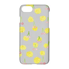 Cute Fruit Cerry Yellow Green Pink Apple Iphone 7 Hardshell Case by Mariart