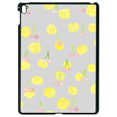 Cute Fruit Cerry Yellow Green Pink Apple Ipad Pro 9 7   Black Seamless Case by Mariart