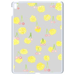 Cute Fruit Cerry Yellow Green Pink Apple Ipad Pro 9 7   White Seamless Case by Mariart