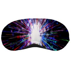Seamless Animation Of Abstract Colorful Laser Light And Fireworks Rainbow Sleeping Masks