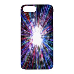 Seamless Animation Of Abstract Colorful Laser Light And Fireworks Rainbow Apple Iphone 7 Plus Hardshell Case by Mariart