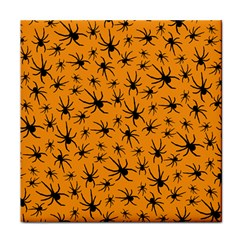 Pattern Halloween Black Spider Icreate Tile Coasters by iCreate