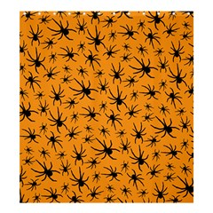 Pattern Halloween Black Spider Icreate Shower Curtain 66  X 72  (large)  by iCreate