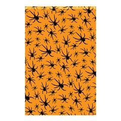 Pattern Halloween Black Spider Icreate Shower Curtain 48  X 72  (small)  by iCreate