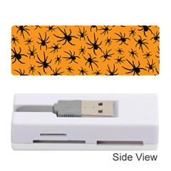 Pattern Halloween Black Spider Icreate Memory Card Reader (stick)  by iCreate