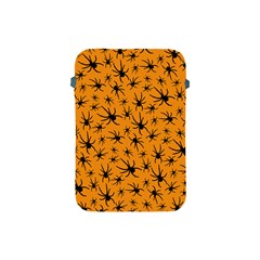 Pattern Halloween Black Spider Icreate Apple Ipad Mini Protective Soft Cases by iCreate