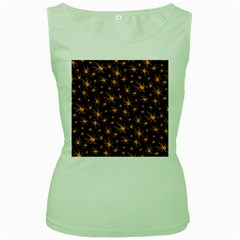 Halloween Spiders Women s Green Tank Top by iCreate