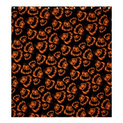 Pattern Halloween Jackolantern Shower Curtain 66  X 72  (large)  by iCreate