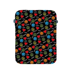 Pattern Halloween Peacelovevampires  Icreate Apple Ipad 2/3/4 Protective Soft Cases by iCreate