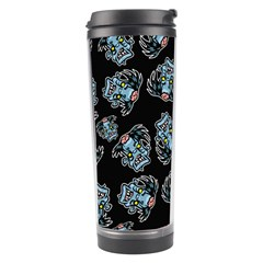 Pattern Halloween Zombies Brains Travel Tumbler by iCreate