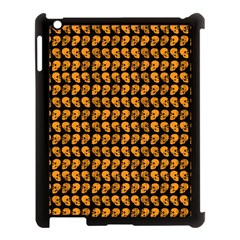 Halloween Color Skull Heads Apple Ipad 3/4 Case (black) by iCreate