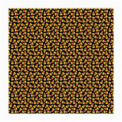 Pattern Halloween Candy Corn   Medium Glasses Cloth (2 Side) by iCreate