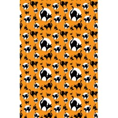 Pattern Halloween Black Cat Hissing 5 5  X 8 5  Notebooks by iCreate