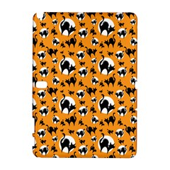 Pattern Halloween Black Cat Hissing Galaxy Note 1 by iCreate