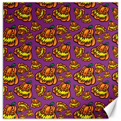 1pattern Halloween Colorfuljack Icreate Canvas 12  X 12   by iCreate