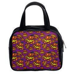 1pattern Halloween Colorfuljack Icreate Classic Handbags (2 Sides) by iCreate