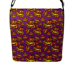 1pattern Halloween Colorfuljack Icreate Flap Messenger Bag (l)  by iCreate