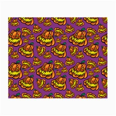 Halloween Colorful Jackolanterns  Small Glasses Cloth (2-side) by iCreate
