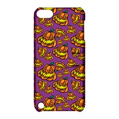 Halloween Colorful Jackolanterns  Apple Ipod Touch 5 Hardshell Case With Stand by iCreate