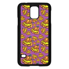 Halloween Colorful Jackolanterns  Samsung Galaxy S5 Case (black) by iCreate
