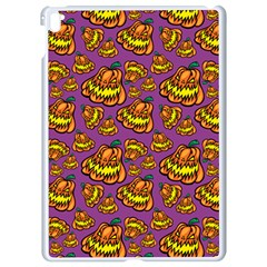 Halloween Colorful Jackolanterns  Apple Ipad Pro 9 7   White Seamless Case by iCreate
