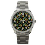 Halloween Ghoul Zone Icreate Sport Metal Watch Front