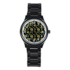Halloween Ghoul Zone Icreate Stainless Steel Round Watch by iCreate